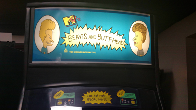 """A brief history of the cancelled """"Beavis and Butt-Head"""" arcade game"""