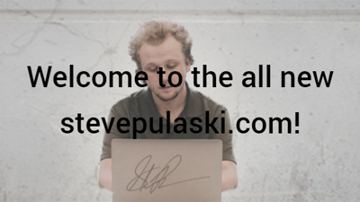It's been a while: Welcome to my brand new website!